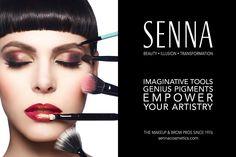 Senna Cosmetics advertising by Corina Marie #senna Mary, Advertising, Lipstick, Cosmetics,
