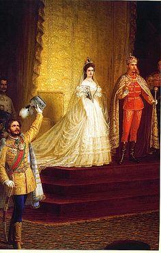 Sisi's Hungarian coronation