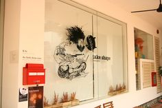 """the little dröm store presents """"Take Shape"""", an exhibition by illustrators April and Siew."""