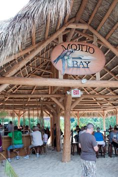 I fell in love with this bar in Put-In-Bay, Ohio. Mojito Bay