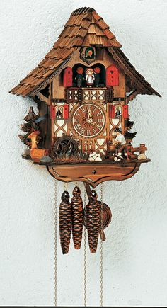 1000 images about cuckoo clocks on pinterest cuckoo clocks anton and black forest germany - Funky cuckoo clock ...