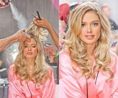 Get VS Angels' Beauty Secrets - Victoria's Secret Fashion Show: Behind the Scenes ft Doutzen Kroes