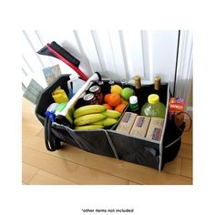 2-Pack: Collapsible Trunk Organizers with Insulated Coolers at 70% Savings off Retail!