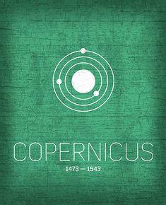 The Inventors Series 001 Copernicus by Design Turnpike Science Guy, Science And Technology, Minimalist Poster Design, Notebook Stickers, The Inventors, Poster Series, Altered Art, Female Art, Book Worms