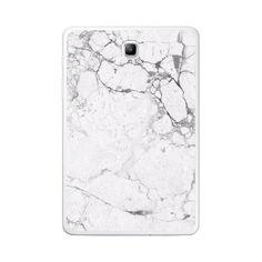 Samsung Galaxy Tab A 8.0 White Marble Texture Case
