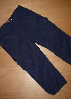 Kaufe meinen Artikel bei #Mamikreisel http://www.mamikreisel.de/kleidung-fur-jungs/hosen-hosen/19059121-marineblaue-thermohose-von-dm-gefuttert
