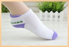 Yoga Socks Anti Slip Rubber Dots For Indoor Exercise