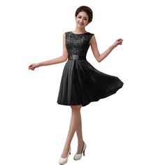 2d9c5d1f47a Girl Fashion Sexy Round Collar Sleeveless Belt Design Lace Chiffon Dress