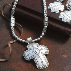 ༻❁༺ ❤️ ༻❁༺ SILVER CROSS NECKLACE | King Ranch ༻❁༺ ❤️ ༻❁༺ Country Jewelry, Western Jewelry, King Ranch, Western Chic, Ranch Style, My Style, Country Style, Boho Chic, Bracelets