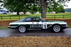 Beautiful Jaguar XJS race car....