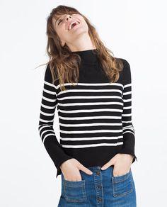 jersey marinero zara mujer