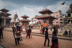 Patan Durbar Square by Sorin Furcoi on 500px