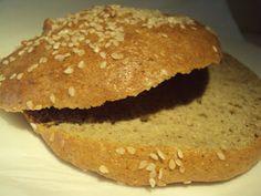 Hamburgerbrød med fiberhusk
