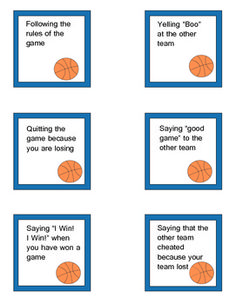 One quick and easy game to Teach Good Sportsmanship | iHeartSpeech ...