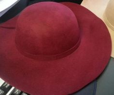 Brick Red Felt Fedora- Style Me Chic