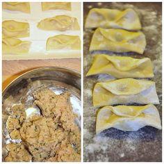 Tortellini, My Favorite Food, Favorite Recipes, Gourmet Recipes, Cooking Recipes, Pasta Casera, Arancini, Dumpling, Risotto