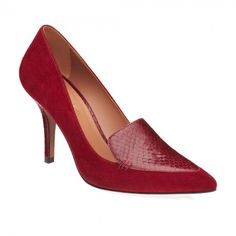 Arezzo sapatos femininos scarpin mocassim salto medio