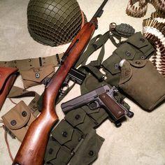 M-1 Carbine & 1911 www.raeind.com  or  http://www.amazon.com/shops/raeind