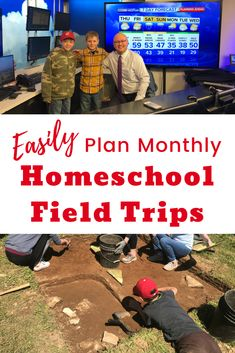 How To Easily Plan Monthly Homeschool Field Trips Monthly Homeschool Field Trips Can And Should Be A Reality When You Have A Plan In Place Post Includes Field Trip Ideas And A Free Planning Printable The Plan, Plan Your Trip, How To Plan, Homeschool Kindergarten, Homeschool Curriculum, Virtual Field Trips, Experiential Learning, Home Schooling, Kids Education
