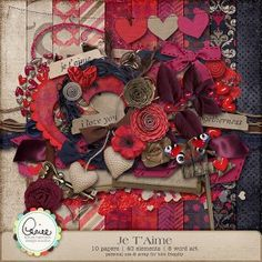 I want to use these stitched paper hearts for Valentine cards