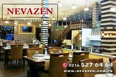 """İş yemekleriniz için """"Nevazen Türk Mutfağı"""". Bilgi ve Rezervasyon İçin Tel: 0216 527 64 64  www.nevazen.com.tr"""