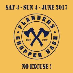 Next FLANDERS CHOPPER BASH 3/4 June 2017 - Assenede - Belgium