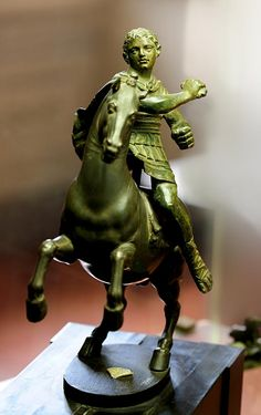 Cavalryman (type of Demetrius Poliorcetes. Horse: 1548 (by Benvenuto Cellini). Art Rules, Firenze, Ancient Greek, Warfare, Golden Age, Horses, Statue, Museum, Art