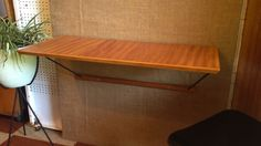 Kurrlson mid century style wall mount desk / workstation