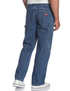 Dickies Mens BigTall Loose Fit Carpenter Jean  #jeans #pants #mensjeans #clothing #fashion #fashionjeans