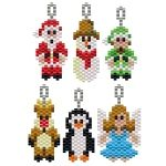 ThreadABead Small Christmas Character Earring