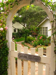 Cottage Charm - My dream home, dream garden and dream entrance complete with…