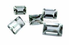 Blue Topaz Best Price Emerald Fancy Cut Natural Loose Gemstone