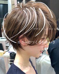 お客様ヘア | 伊輪ブログ 美容室 anMinnie 亀戸 AFLOAT 銀座、渋谷、24時間情熱的美容師宣言!! Asian Short Hair, Short Hair Cuts, Short Hair Styles, Cute Hairstyles For Short Hair, Bob Hairstyles, Asian Bob Haircut, Haircut For Older Women, Great Hair, Gorgeous Hair