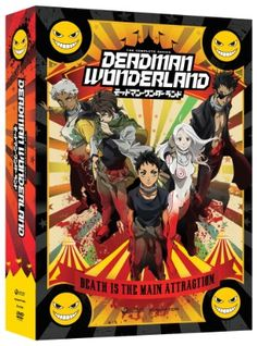 Deadman Wonderland DVD Complete Series (Hyb) Limited Edition   I heard about this series a while ago, it sounds awesome.