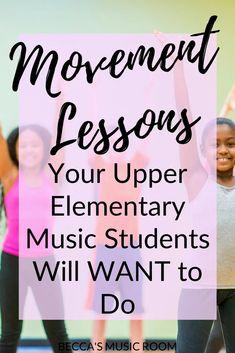 Movement Activities, Music Activities, Elementary Music Lessons, Upper Elementary, Music Anchor Charts, Teaching Kindness, School Age Activities, Music Lesson Plans, Music Classroom