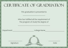 fake masters degree template