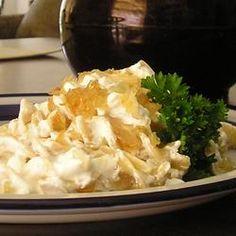 Turos Csusza (Pasta with Cottage Cheese) Allrecipes.com