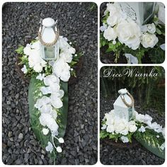 Grave Decorations, Christmas Decorations, Table Decorations, Black Flowers, Flower Art, Art Flowers, Ikebana, Funeral, Garden