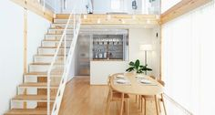 Modern Minimalist Dining Room Japanese Style - House Modern Design - dezdemon-home-decorideas. Modern Japanese Interior, Japanese Style House, Japanese Interior Design, Office Interior Design, Japanese Minimalism, Bedroom Minimalist, Minimalist Dining Room, Minimalist Interior, Minimalist Home