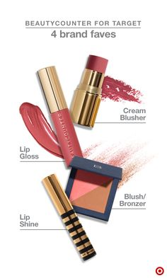 LIMITED-EDITION COLLECTION: The Beautycounter brand is all about safer, high-performing products. This limited-time only collection for Target includes makeup that offers a fresh pop of color—day or night. The Color Story set includes Peony Lip Gloss in a moisturizing formula that's never sticky, and Hibiscus Cream Blusher which easily blends to brighten cheeks. The Bronzer/Blush Duo creates a natural-looking glow and the Lip Shine is a clear gloss perfect for just about any time.