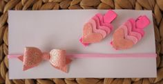 Hair Accessories Pack - Pink by UnderTheCherryTreeAU on Etsy