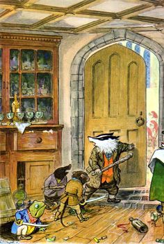 I t's no secret to those who know me that The WIND In The WILLOWS, by KENNETH GRAHAME, is my all-time favourite 'kids' book....