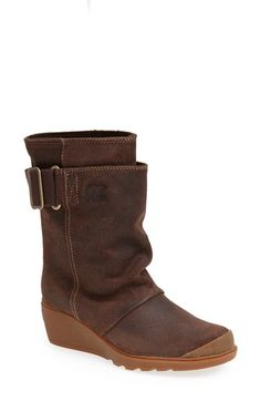 SOREL 'Toronto' Waterproof Wedge Mid Boot (Women) available at #Nordstrom