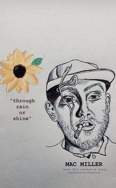 Mac Miller, Quick Sketch, Sketches, Art, Drawings, Art Background, Kunst, Performing Arts, Doodles