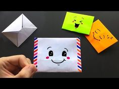how to make a paper envelope without glue or tape