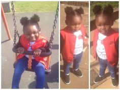 Cute Little girl Afro Puffs Shared By Carol Beautiful Black Babies, Beautiful Children, Lil Girl Hairstyles, Cool Hairstyles, Perfect Ponytail, Afro Puff, Natural Hair Styles, Natural Beauty, Pretty Baby