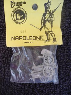 Naismith #NE7 15mm Napoleonic 2 Cargo Wagons? White Metal Military Figures #Naismith