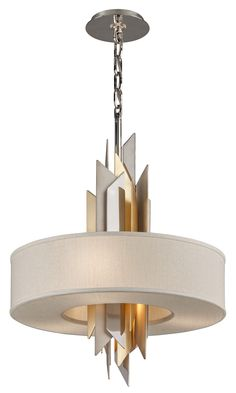 Modernist Incandescent Pendant