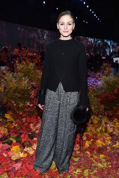 3c52a8f861d19 Olivia Palermo Photos Photos  Moncler Gamme Rouge  Front Row - Paris  Fashion Week Womenswear Fall Winter 2017 2018