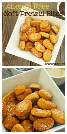 Soft Pretzel Bites Recipe {Allergy Free}